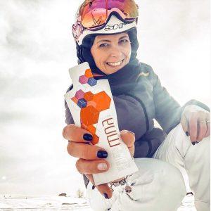 nutrifii moa product shot with skiier