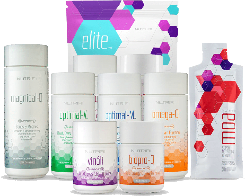 All the Nutrifii products 2021