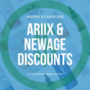 Ariix & NewAge discount blog cover graphic
