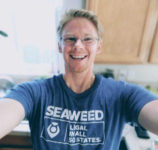 photo of zeth with seaweed shirt